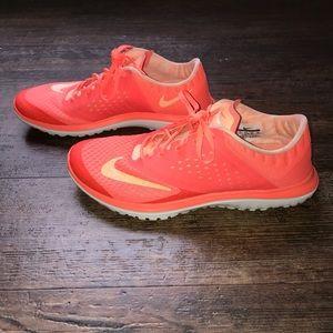 Nike Neon Orange Shoes